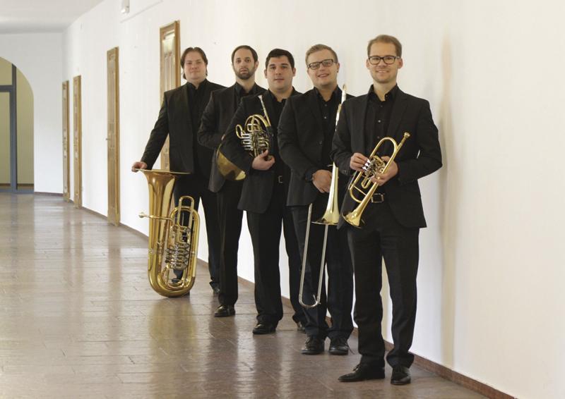 Goldbrass-Quintett der Philharmonie Salzburg