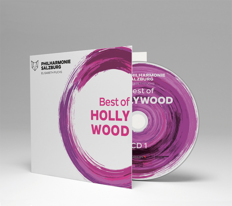Best of Hollywood: film and serine music. Audio recording on CD from the Salzburg Philharmonic
