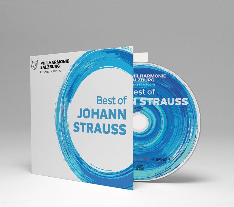 Best of Johann Strauß & Brahms Hungarian Dance No. 5. Audio recording on CD of the Salzburg Philharmonic