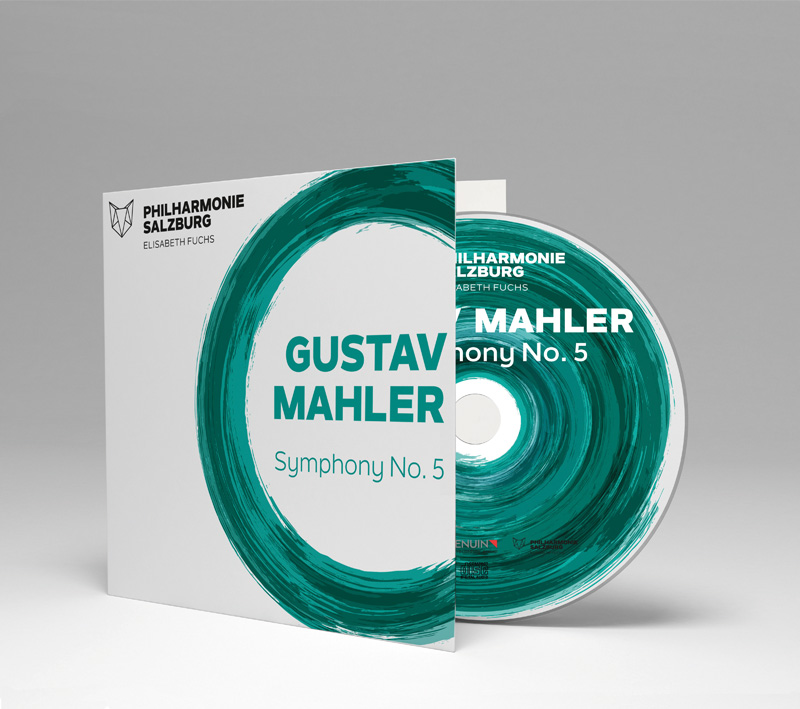 Gustav Mahler's 5th Symphony. Audio recording on CD from the Salzburg Philharmonic